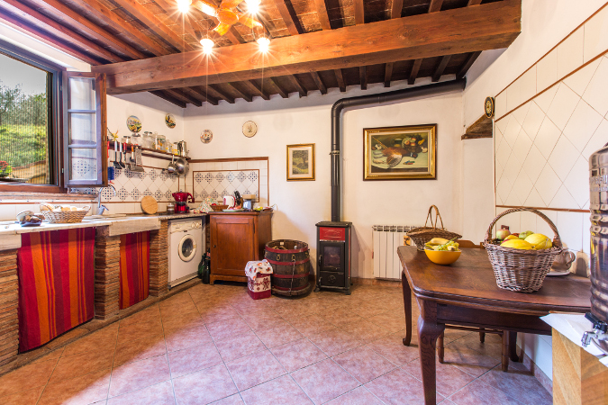 Cucine stile toscano gallery of img with cucine stile for Piani scrivania stile artigiano